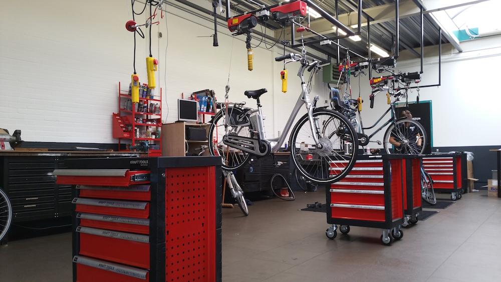 E-Bike Gelderland - Werkplaats