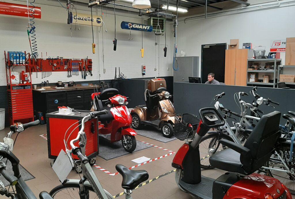 Econelo werkplaats - E-Bike Gelderland