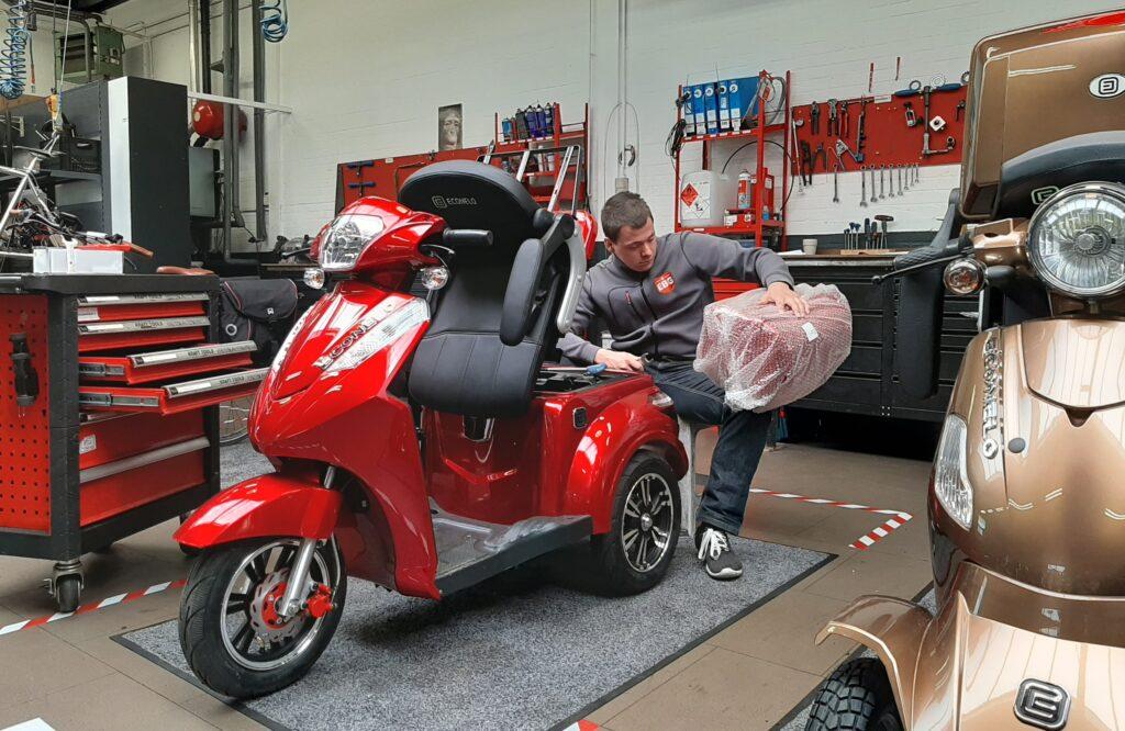 Econelo montage - E-Bike Gelderland