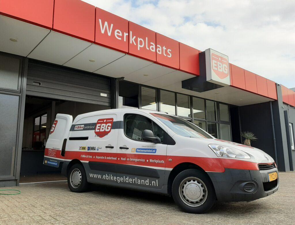Werkplaats - E-Bike Gelderland