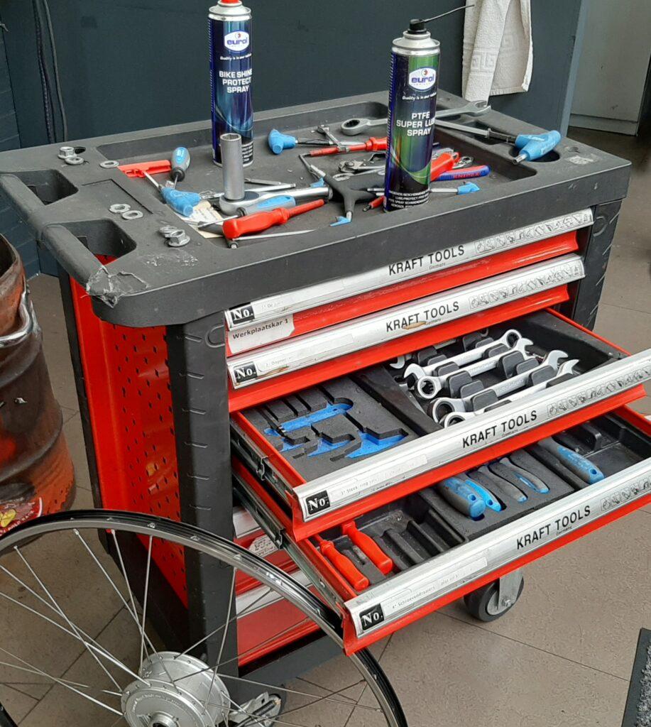 Kraft Tools bus - E-Bike Gelderland